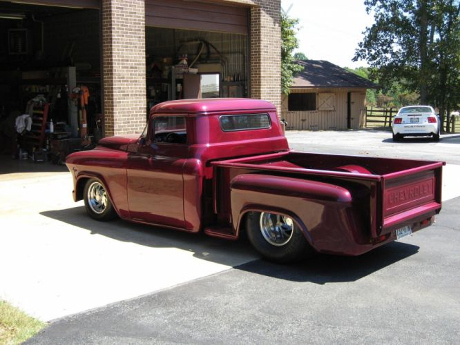 1955 Chevrolet Other Pickup custom hot rod rods f wallpaper