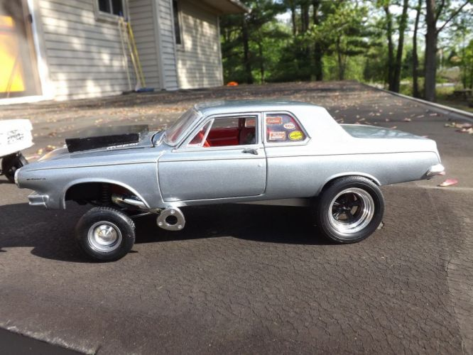 1963 Dodge 330 CUSTOM Gasser drag race racing custom hot rod rods f wallpaper
