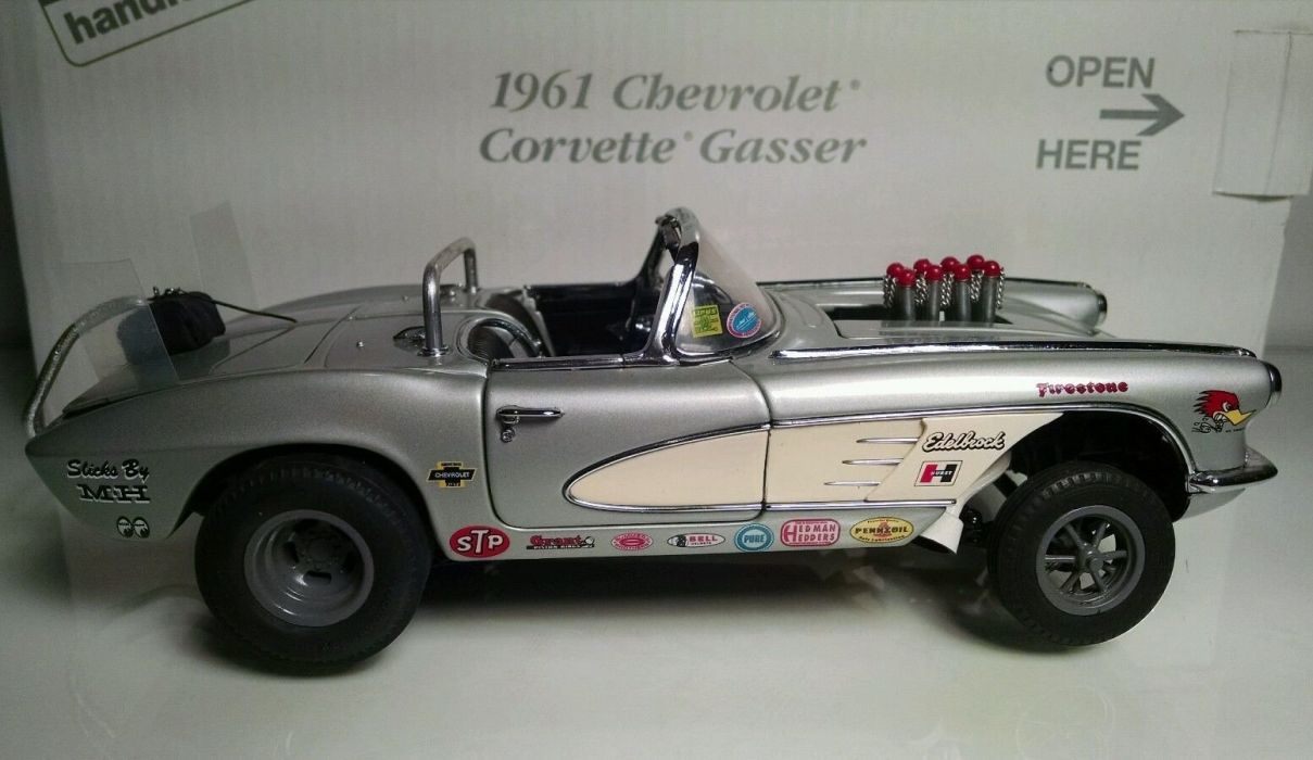 1961 Chevrolet Corvette Gasser drag race racing custom hot rod rods f wallpaper