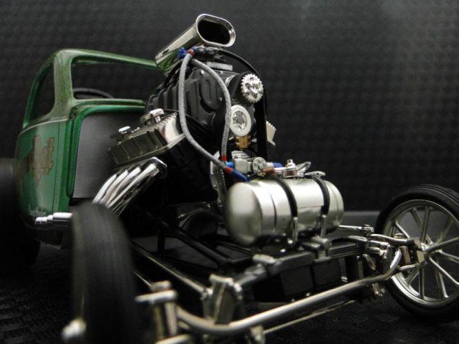 Concept Dragster Gasser drag race racing custom hot rod rods f wallpaper