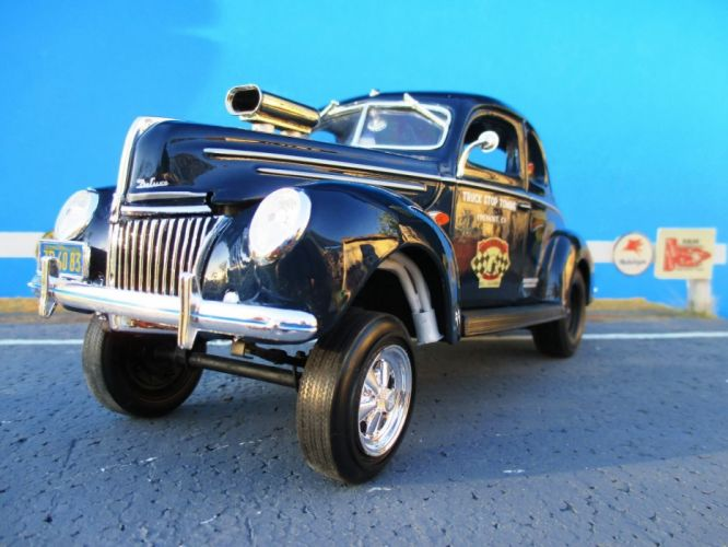 1939 Ford Deluxe Gasser drag race racing custom hot rod rods f wallpaper