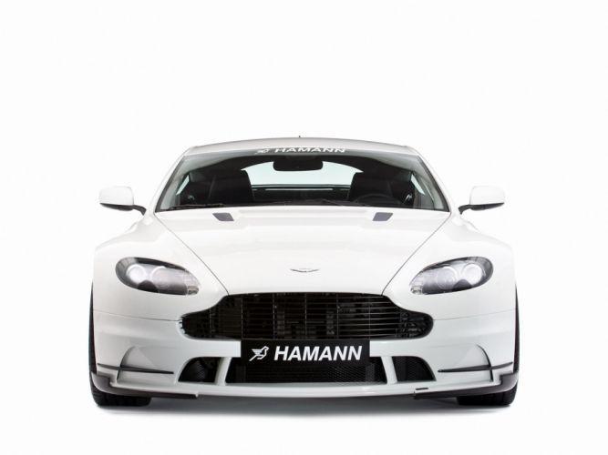 Hamann Aston Martin V8 Vantage cars modifided 2008 wallpaper