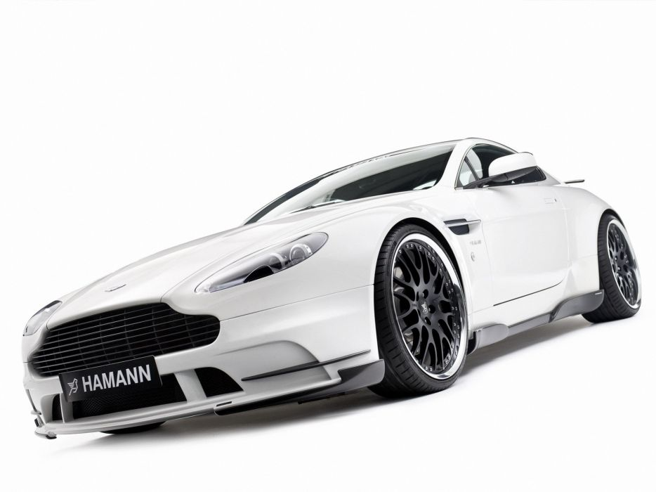Hamann Aston Martin V8 Vantage cars modifided 2008 wallpaper