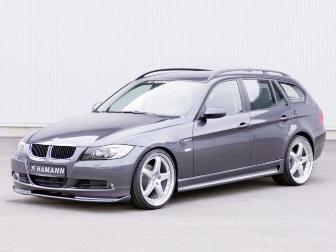 Hamann BMW 3-Series Touring (E91) cars modifided wallpaper