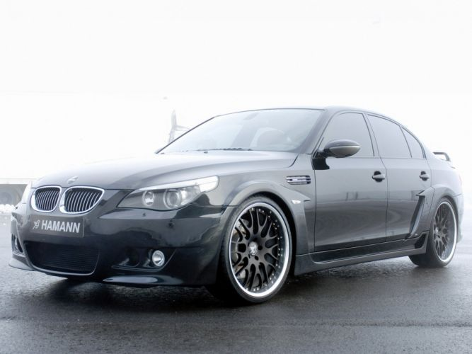 Hamann BMW-M5 Widebody Edition Race (E60) cars modifided wallpaper
