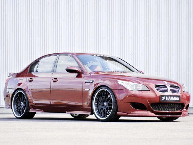 Hamann BMW-M5 (E60) cars modifided wallpaper