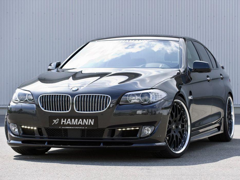 Hamann BMW 5-Series (f10) cars modifided wallpaper