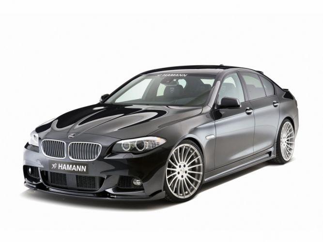 Hamann BMW 5-Series M-Technik (f10) cars modifided wallpaper