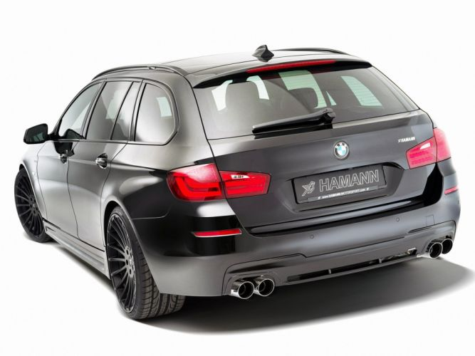 Hamann BMW 5-Series M-Technik Touring (f11) cars modifided wallpaper