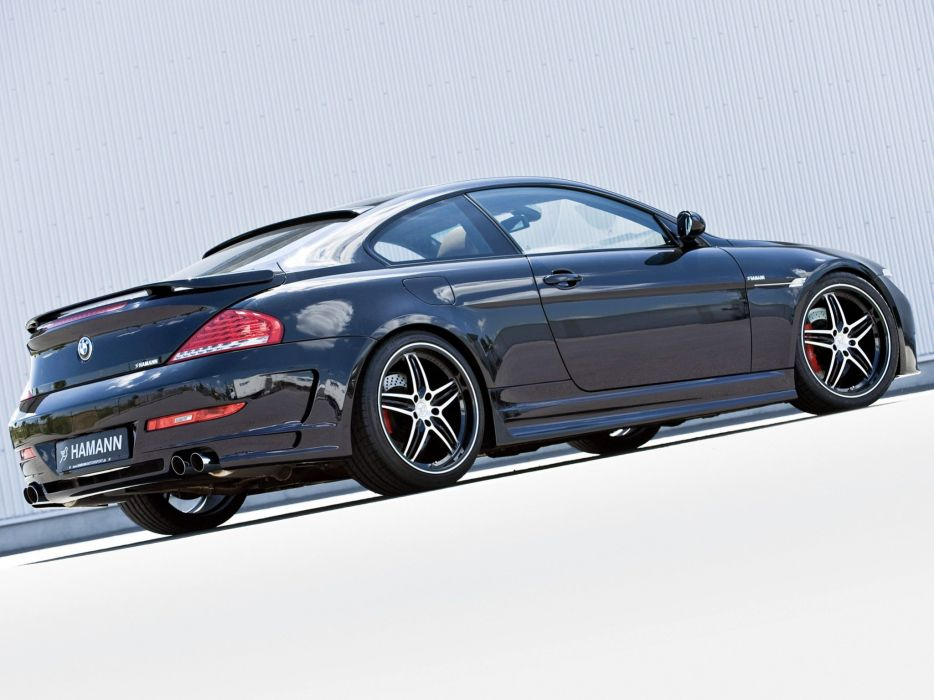 Hamann BMW 6-Series (E63) cars modifided wallpaper