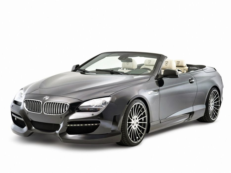 Hamann BMW 6-Series cabriolet (F12) cars modifided wallpaper