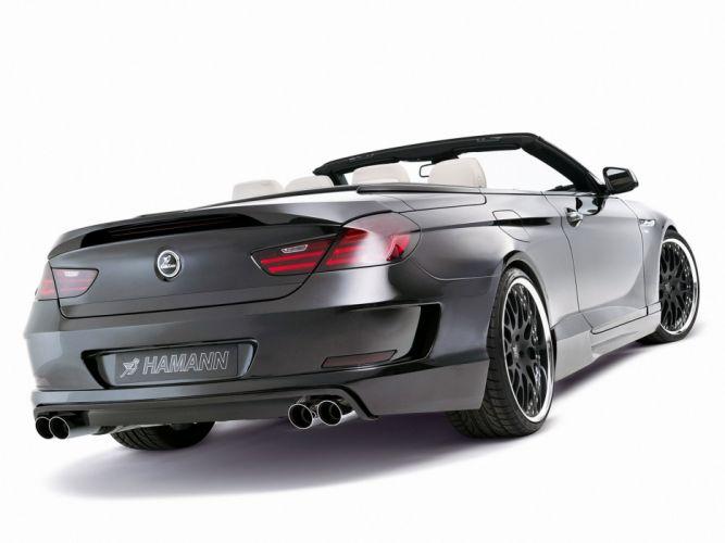 Hamann BMW 6-Series cabriolet (F12) cars modifided wallpaper