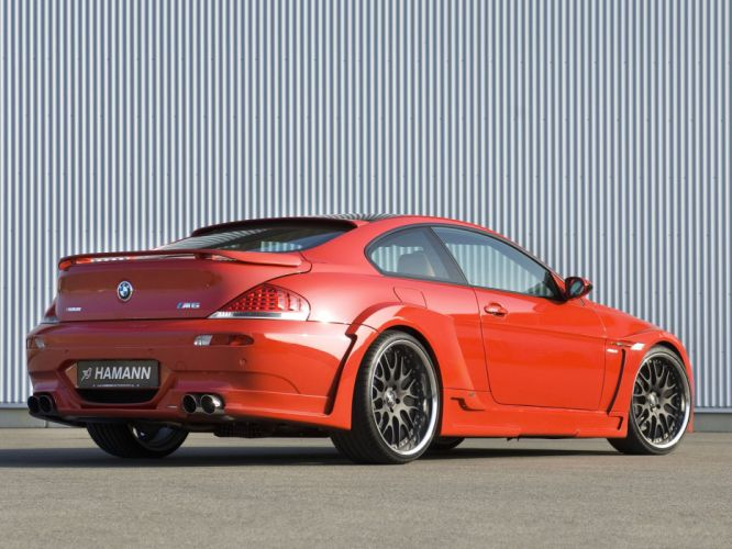 Hamann BMW-M6 Widebody Edition Race (E63) cars modifided wallpaper