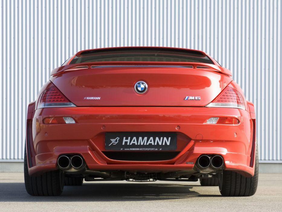 Hamann BMW-M6 Widebody Edition Race (E63) cars modifided wallpaper
