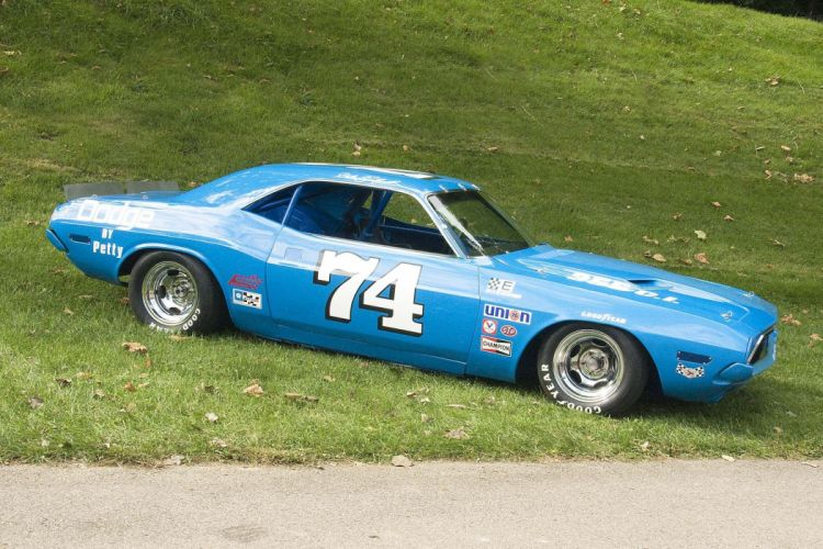 1972 Dodge Challenger nascar race racing muscle hot rod rods d wallpaper