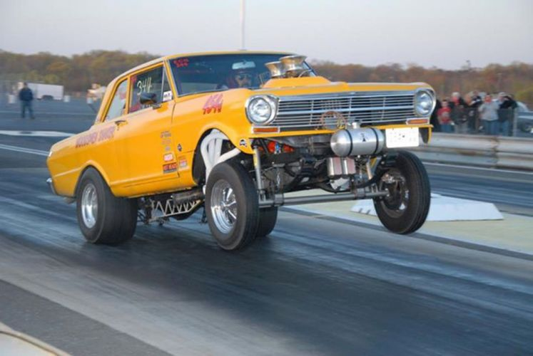 1962 Chevrolet II Nova Gasser drag race racing custom hot rod rods f wallpaper
