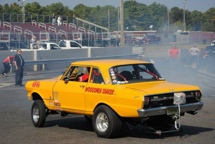 1962 Chevrolet II Nova Gasser drag race racing custom hot rod rods f wallpaper
