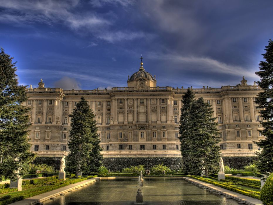palacio real madrid espaA wallpaper