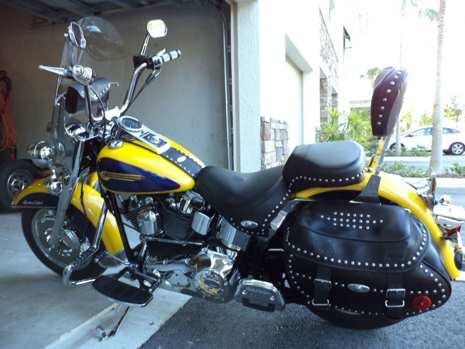 2004 Harley Davidson Heritage Softail Classic bike motorbike motorcycle g wallpaper