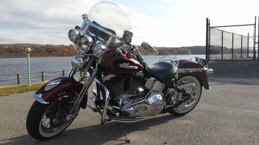2002 HARLEY DAVIDSON HERITAGE SPRINGER bike motorbike motorcycle g wallpaper