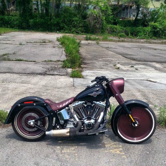 2004 HARLEY DAVIDSON SOFTAIL FATBOY CRUISER Bike Motorbike