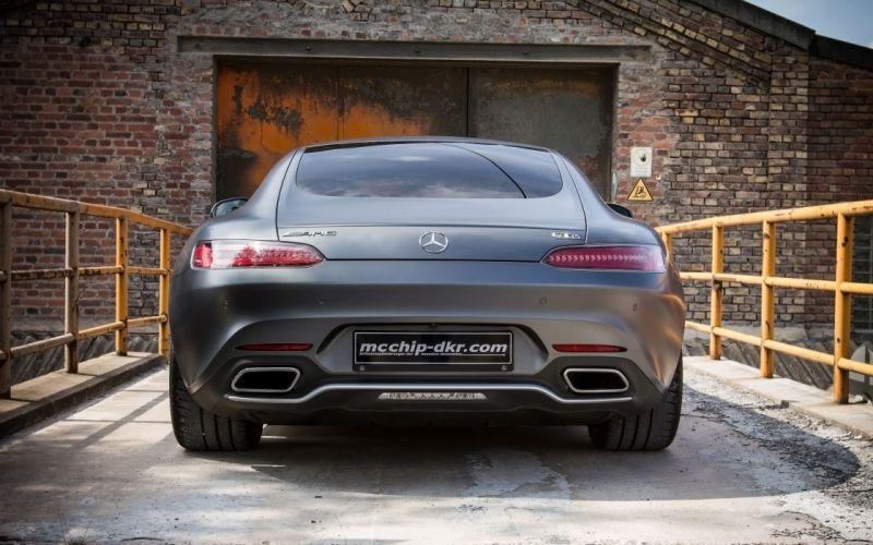 2015 mcchip-dkr Mercedes-AMG GT wallpaper
