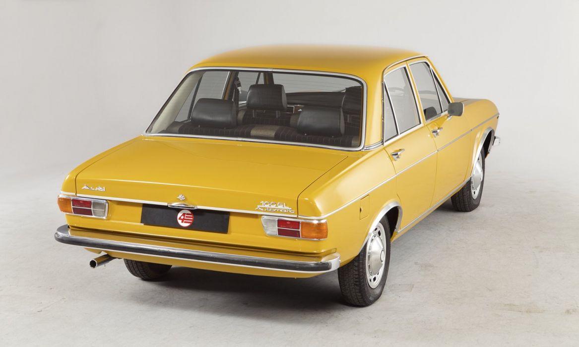Audi 100 UK-spec (C1) sedan cars 1968 wallpaper