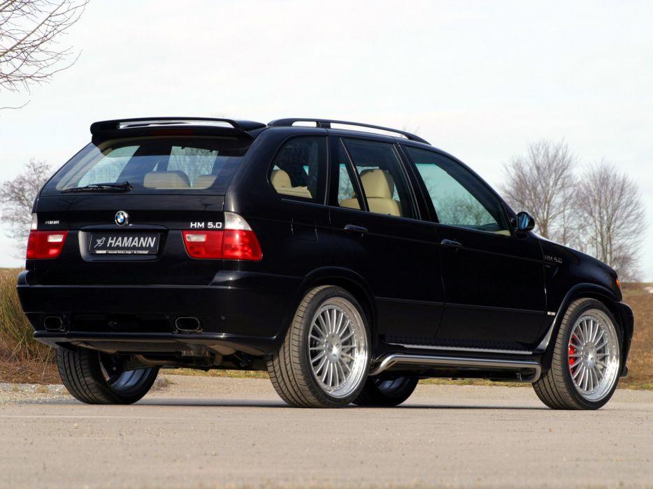 hamann bmw x5 e53 modified cars 2000 wallpaper. Black Bedroom Furniture Sets. Home Design Ideas