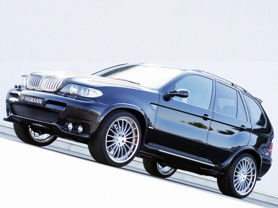 Hamann BMW-X5 (E53) modified cars 2003 wallpaper