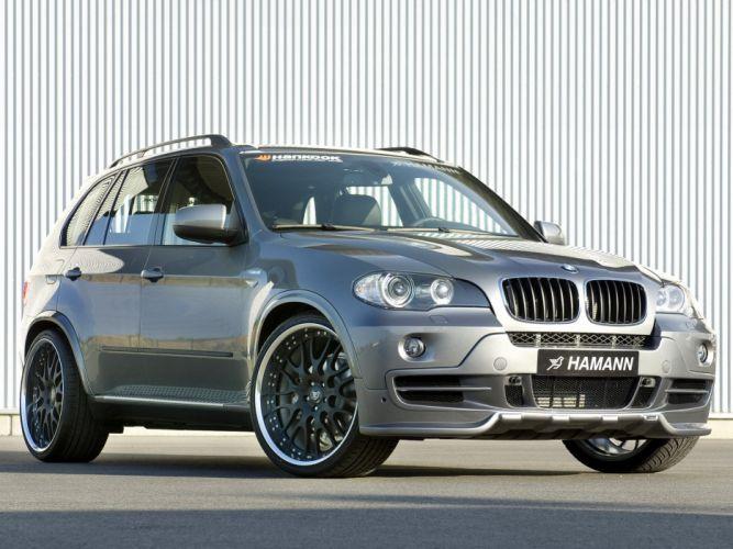 Hamann BMW-X5 4 8i (E70) modified cars 2007 wallpaper