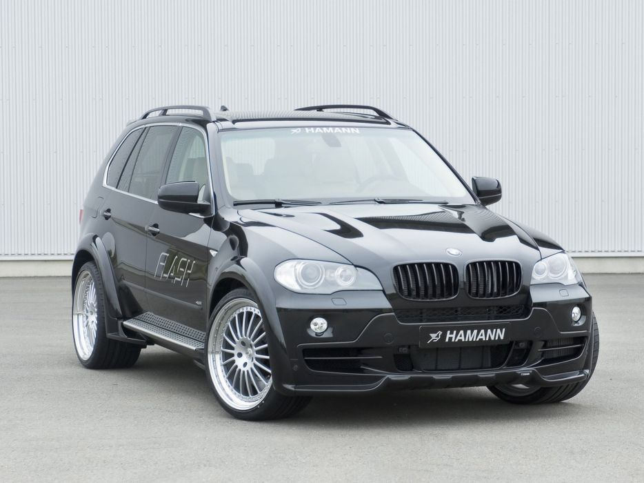 Hamann BMW-X5 4 8i Flash (E70) modified cars 2007 wallpaper