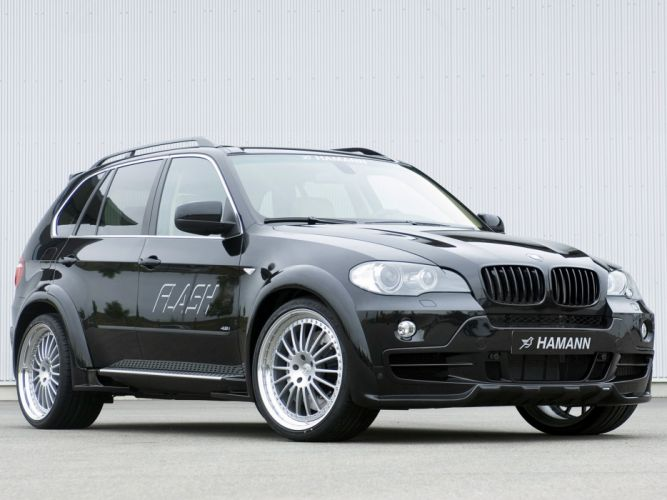 Hamann BMW-X5 4 8i Flash (E70) modified cars 2007 wallpaper