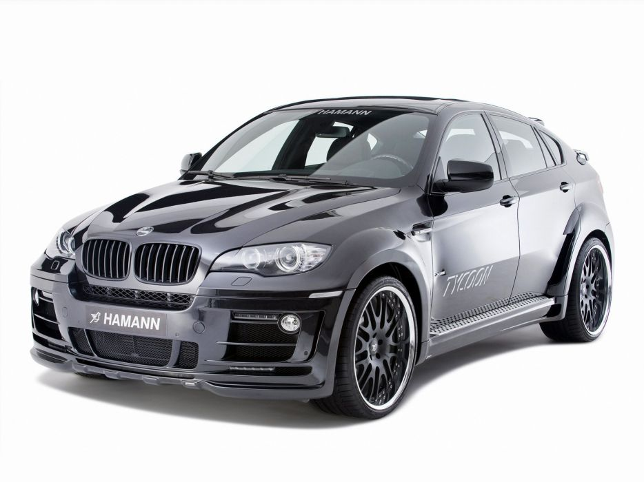 Hamann BMW-X6 Tycoon (E71) modified cars 2008 wallpaper