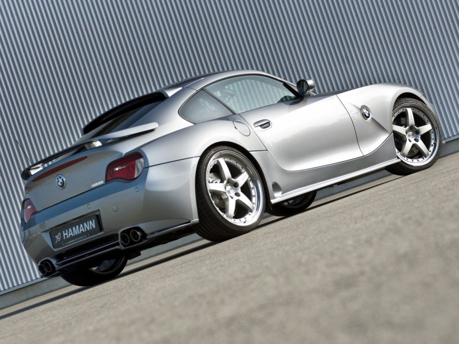 Hamann BMW Z4-M Coupe (E85) cars modified 2006 wallpaper