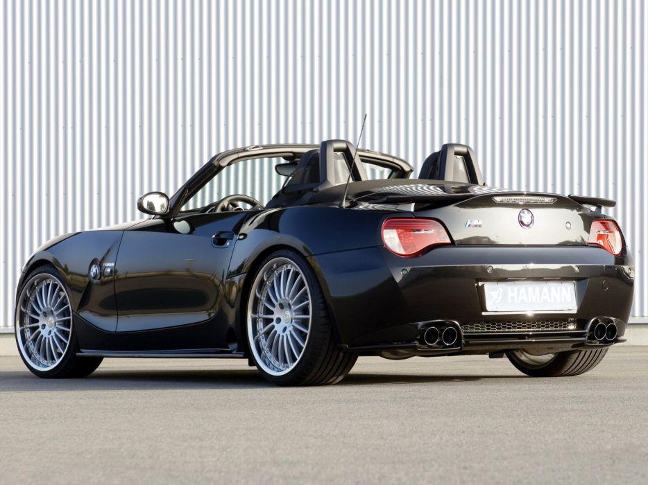 Hamann BMW Z4-M roadster (E85) cars modified 2008 wallpaper