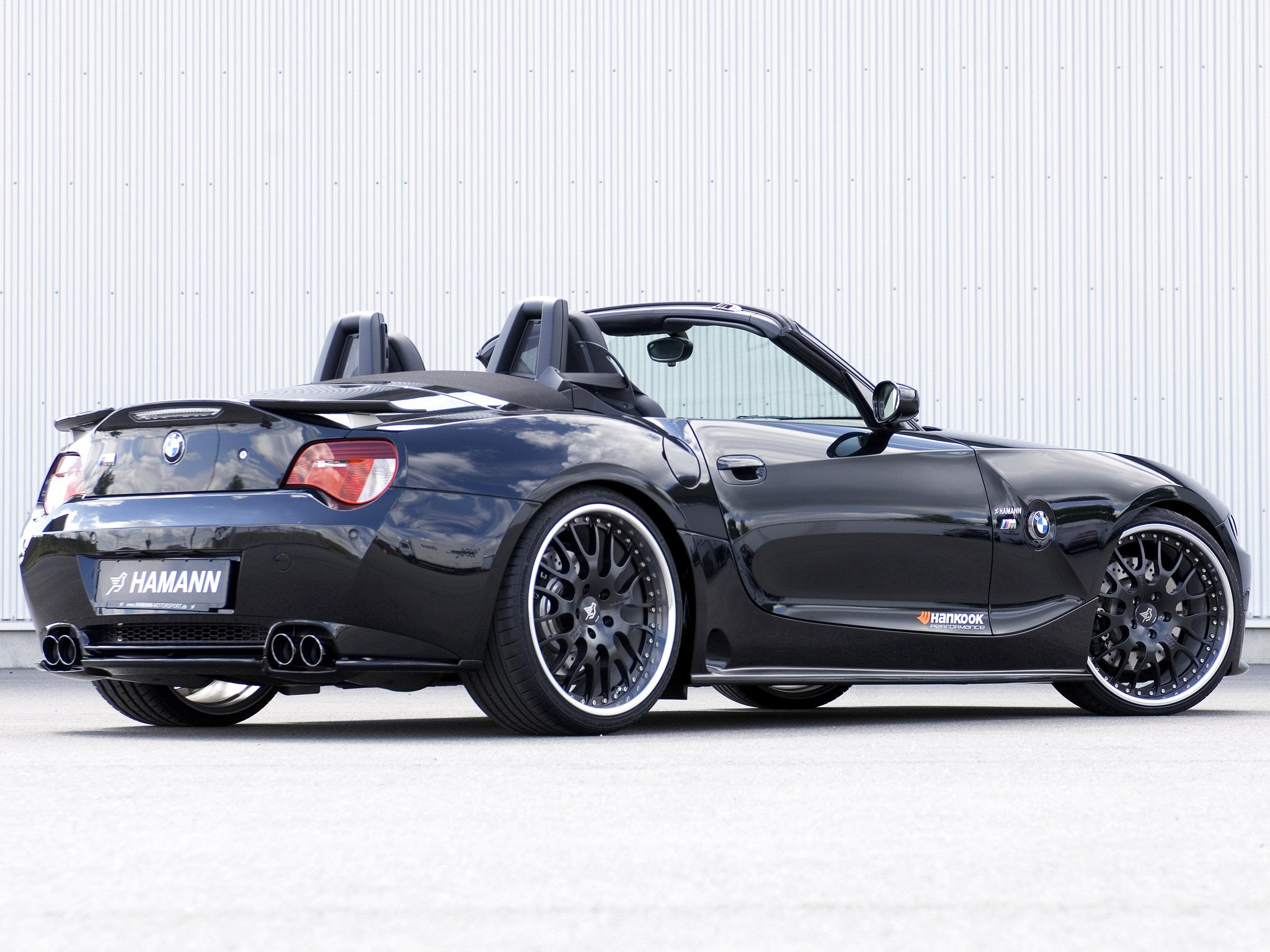 hamann bmw z4 m roadster e85 cars modified 2008. Black Bedroom Furniture Sets. Home Design Ideas