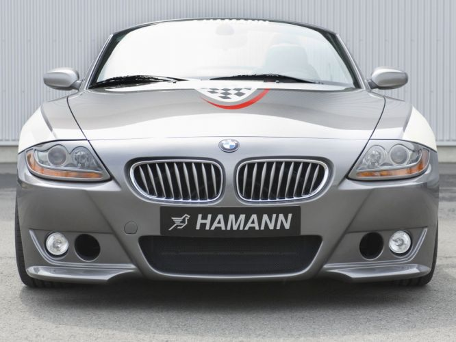 Hamann BMW Z4 roadster (E85) cars modified 2008 wallpaper