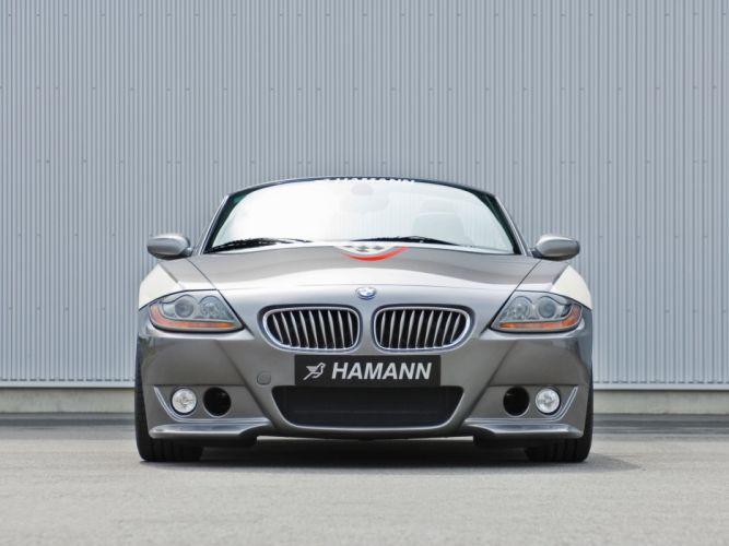 Hamann BMW Z4 roadster (E85) cars modified 2008 wallpaper