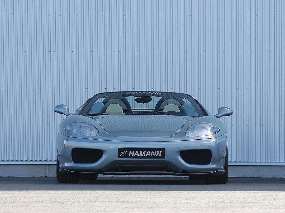 Hamann Ferrari 360 Spider cars modified 2000 wallpaper
