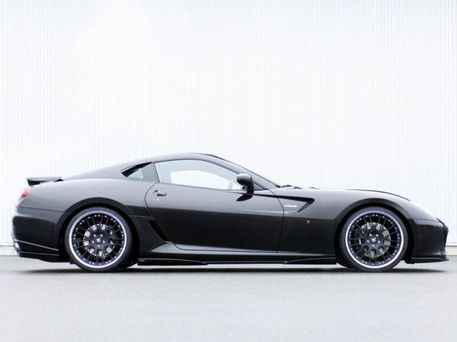 Hamann ferrari 599 GTB Fiorano cars modified 2010 wallpaper