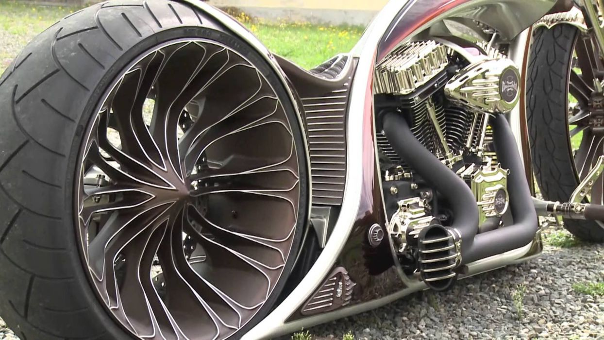 THUNDERBIKE custom chopper bobber bike 1tbike motorbike motorcycle tuning wallpaper