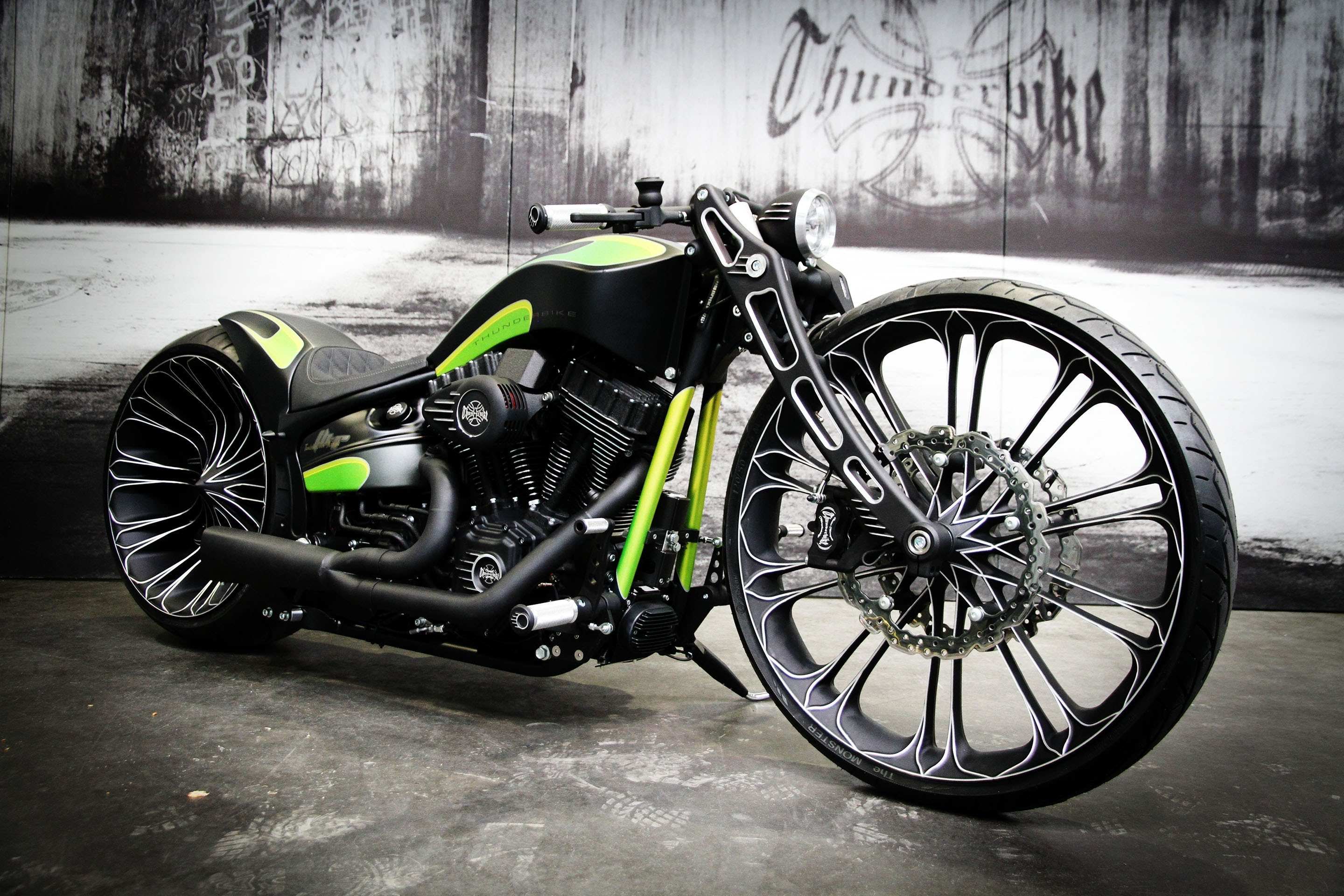 THUNDERBIKE custom chopper bobber bike 1tbike motorbike ...