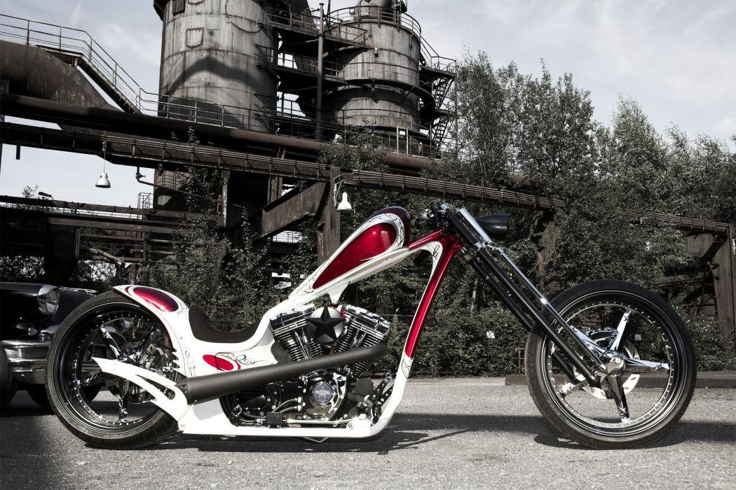 THUNDERBIKE custom chopper bobber bike 1tbike motorbike motorcycle tuning wallpaper