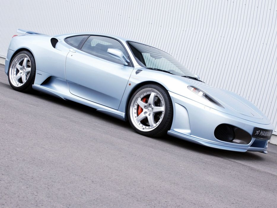 Hamann Ferrari F430 coupe cars modified 2004 wallpaper