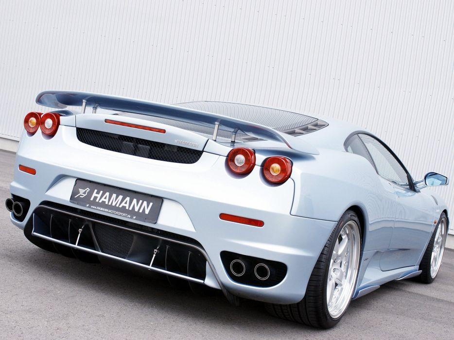 Hamann Ferrari F430 coupe cars modified 2004 wallpaper
