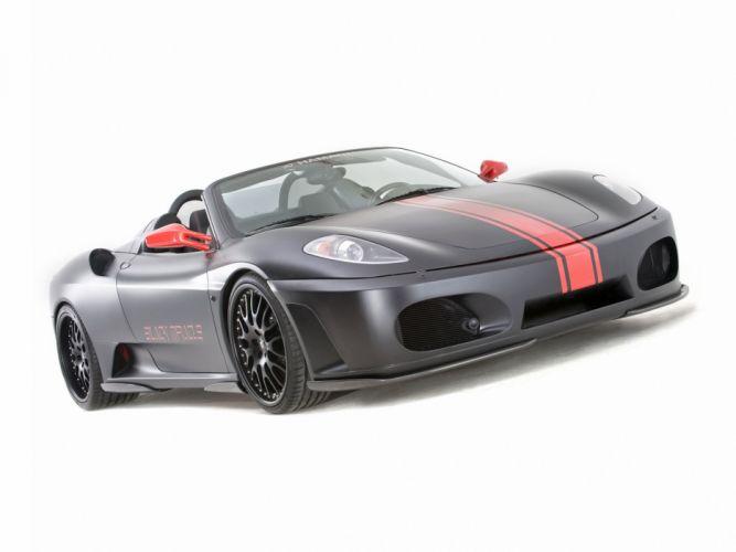 Hamann Ferrari F430 Black Miracle Spider cars modified 2008 wallpaper