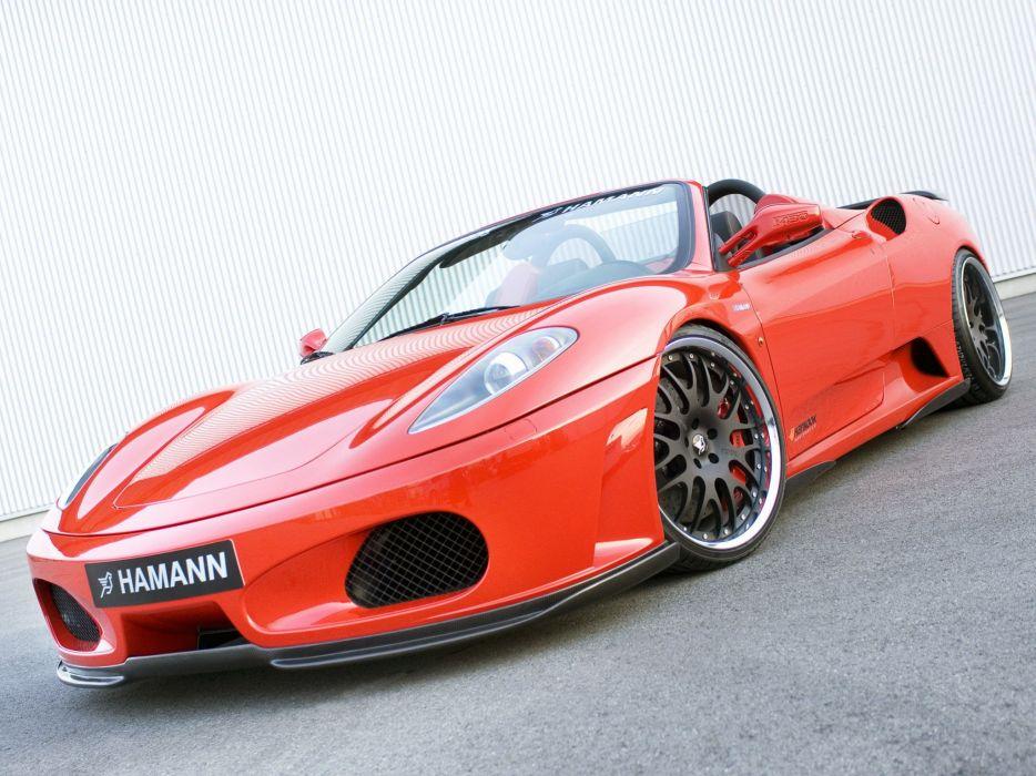 Hamann Ferrari F430 Spider cars modified 2008 wallpaper