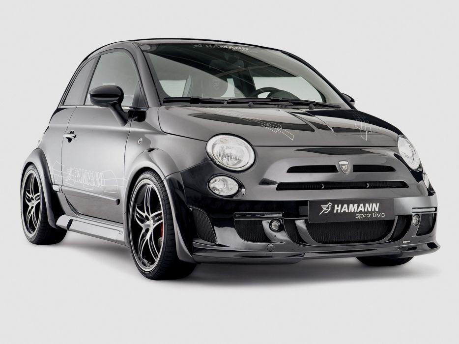 Hamann Fiat 500 Largo cars modified 2009 wallpaper