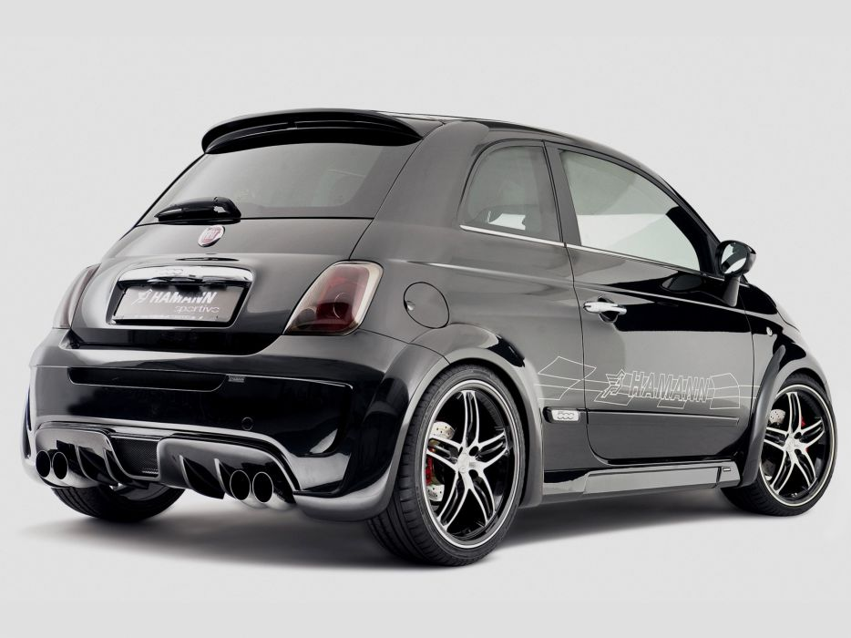 Hamann Fiat 500 Largo cars modified 2009 wallpaper