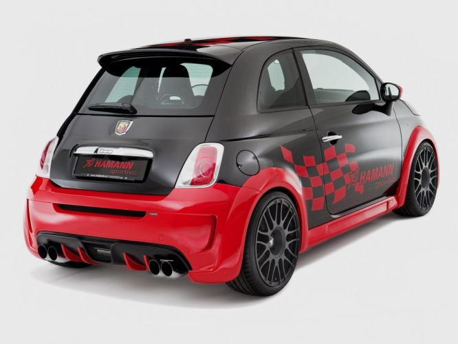 Hamann Fiat 500 Abarth Esseesse cars modified 2010 wallpaper